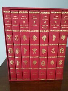 1989 Folio Jane Austen Book Set