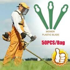 50 Stück Ersatz Messer passt für ALDI/Hofer Akku Rasentrimmer Gardenline Neu