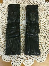 17th Century English Oak Carved Raised Relief Figurine Plaques