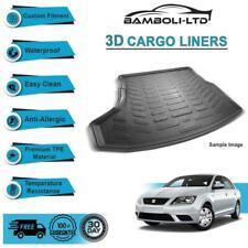3D CARGO LINER BOOT LINER REAR TRUNK MAT FOR Seat Toledo 2013-UP