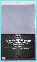 "10 BCW 16X24 NEWSPAPER STORAGE SLEEVES 2 MIL Art Photo Print 16-1/4"" x 24-1/8"""