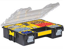 Stanley 197518 FatMax Deep Pro Organiser Waterproof Storage Box Screws Nails