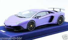 1/18 MR Lamborghini Aventador LP750-4 SV Matt Purple, BBR , Frontiart
