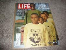 LIFE MAGAZINE / JULY 15 1966 / WATTS RIOTS RECOVERY / BEATLES ON TOUR IN JAPAN