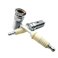 Special Design Metal Smoking Pipes Narguile Grinder Freestyle Spark Plug Pipe