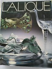 Dettagli su   LALIQUE par Marie-Claude Lalique english - français edition 1988 E