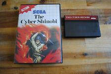 Jeu THE CYBER SHINOBI pour Sega MASTER SYSTEM (pas de notice) PAL
