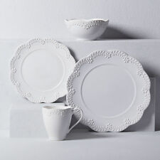 Lenox Chelse Muse Floral White 4-piece Place Setting - Set of 4