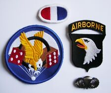 "WWII - 506th P.I.R ""101st AIRBORNE"" (Set de 4 - Reproductions)"