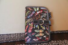 SYDNEY LOVE PLANNER WALLET PURSE CLUTCH BAG HIGH HEEL SHOE STILETO STEPPING OUT