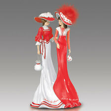 Sisters by Chance Friends by Choice Lady Figurine - Bradford Exchange