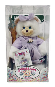 Fisher Price Briarberry Collection Stuffed Bear Doll Berrybeth NEW In Box
