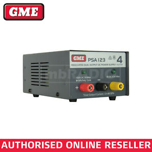 GME PSA123 13.8V (4A PEAK) REGULATED LINEAR POWER SUPPLY