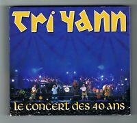 ♫ TRI YANN - LE CONCERT DES 40 ANS - 2 CD SET 24 TITRES - 2011 - TRÈS BON ÉTAT ♫
