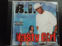 B. I.  featuring RASHEEDA   -  NASTY GIRL  ,  MAXI  CD  von 2002   ,   HIP HOP