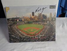 Rare Pittsburgh Pirates PNC Park SGA Canvas Stadium Autograph NEWT GINGRICH