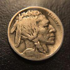 1919 D Buffalo Nickel VF Very Fine Denver Key Date 5c