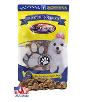 Shadow River Lamb Choppies Dried Lung Dog Reward Training Treats USA Made 6 oz