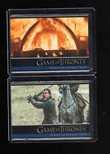2017 Game of Thrones  season 6  P1 and P2 Promo cards