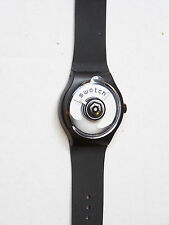 2005 X-LARGE RAMPED SWATCH TOUCH WATCH BLUE WHITE COLLECTABLE NEVER WORN STBK101