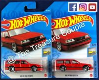 HOT WHEELS - Lot of 2 - VOLVO 850 ESTATE - NEW RED - 2021 - C22