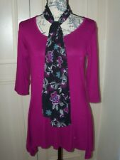 NEW ANTTHONY STUDIO PACK 2 X TOPS & Scarf  Size XS  UK 6/8