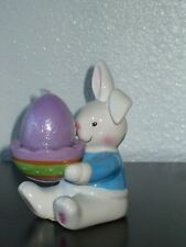 Holiday Home Easter Bunny Rabbit Egg Cup Holder