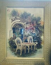 """""""Morning Side"""" Framed And Signed By David Solomon"""