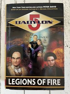 Babylon 5 Legions of Fire Trilogy Hardcover Book by Peter David