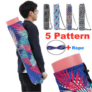 5 Styles Exercise Yoga Mat Canvas Bag Sports Gym Fitness Travel Carrier