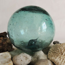 """15"""" In Circumference Vintage Japanese Glass Fishing Float Spindle Inside (#54)"""