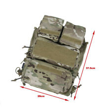 TMC Vest Pouch Zip On Panel 2.0 (Multicam) TMC3107-MC