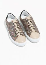 NEW & Other Stories Glitter Sneakers Shoes Sz 36 / US 6.5