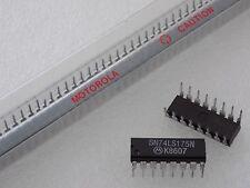 1x Motorola SN74LS175N Quad D Flip-Flop Low Power Schottky Barrier IC PDIP-16