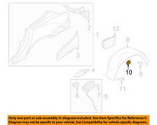 JAGUAR OEM 10-18 XJ-Fender Liner Nut XR854810