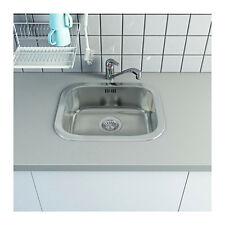 IKEA Küchenspüle mit Mischer, Siphon und Zubehör Einbauspüle Spüle FYNDIG NEU