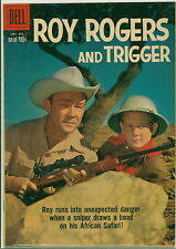Dell Comic Roy Rogers #134 Photo Cover FVF
