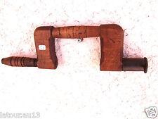 (n°1E) OLD TOOL, OUTIL ANCIEN, vilebrequin à bois de menuisier XIXEME