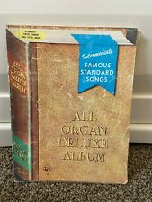 Intermediate FAMOUS STANDARD SONGS-All Organ Deluxe Album 14