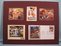 Walt Disney's Pinocchio & First Day Cover of its own Stamp