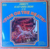 FORREST'S 65 KEY GAVIOLI ORGAN at the Fair On The Heath LP/U.K.
