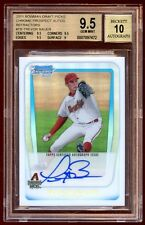 BGS 9.5 10 TREVOR BAUER BOWMAN CHROME REFF RC AUTO /500   SUPER HOT RC 500 MADE