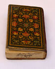 SMALLEST 19c  HAND WRITTEN SAHIFEH-KAMELIEH BOOK  IN ARABIC SIGNED & DATED