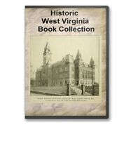 30 West Virginia WV State County Family History Genealogy Books - B313
