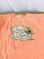 Womens XL  T-Shirt ANVIL Rosie the Riveter Boeing
