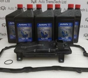 porsche cayenne 0c8 automatic gearbox oil 7L filter gasket aisin atf oem ows oc8