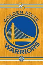 Golden State Warriors - Team Logo 2014 Poster - 22x34 - NBA Basketball