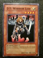 D.D. WARRIOR LADY SDDE-EN010 1ST EDITION COMMON NM