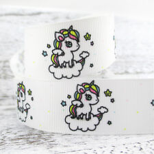 "Unicorn Ribbon 25mm or 1"" Wide NEW UK SELLER FREE P&P"