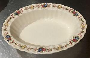 """Spode Hazel Dell 10 3/8"""" Oval Veg Serving Bowl England Vintage"""